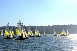 A Success Story: the Feva Double-Handed Dinghy in British Columbia